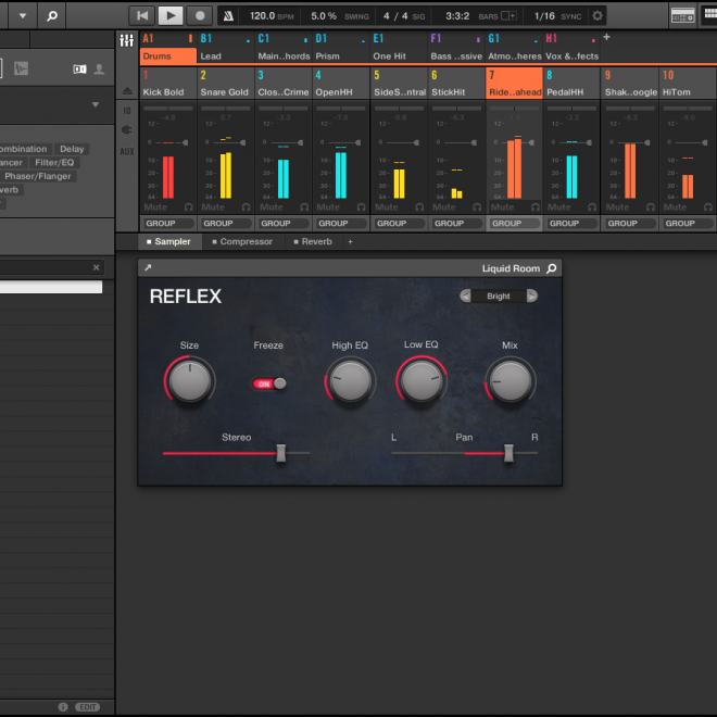 Native Instruments - UI - Mockup