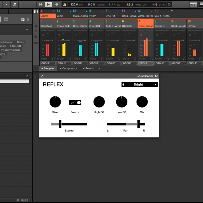 Native Instruments - UI - Wireframe